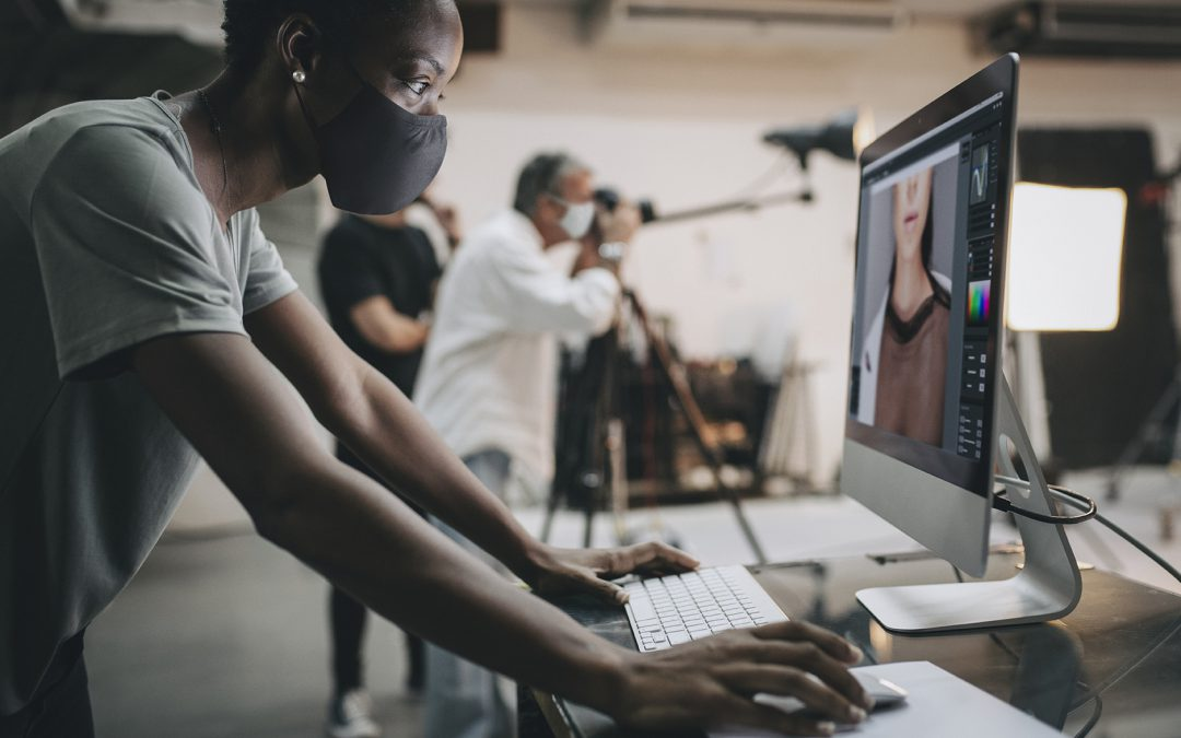 How Covid-19 has changed photo studio work practices
